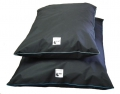 Tuffee Kennel Mattress Cover Only Lrg Blue Piping