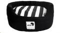Round Dog Bed Lrg Black 80cm