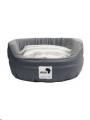 Round Dog Bed Lrg Grey 80cm