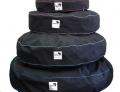 Tuffee Bean Bag Complete Giant 120cm Black/Red pip