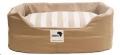 Rectangular Dog Bed Lrg 85x115cm Beige/Stripe