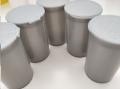 Plastic Vials 75ml 50' Amber