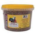 Animalzone Parrot Fruit Chunks 3kg Tub
