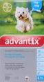 Advantix Medium Dog 1.0ml 4's (4-10kg) Turquoise *