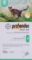 Profender Small Cat 4x0.35ml Green