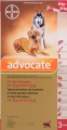 Advocate Large Dog 3x2.5ml (10-25kg) Red *