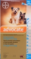 Advocate Medium Dog 3x1.0ml (4-10kg) Turquoise *