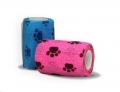 Ciplaband (Sticky Band) Paw Print Pink 75mm