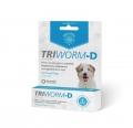 Triworm-D Sml Dogs 1 Tab (0-10kg)Blue
