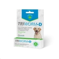 Triworm-D Lrg Dogs 10' Shipper(20-40kg)Green