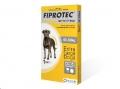 Fiprotec Dog(40-60kg) XL 1' Sgl Pip Yellow