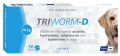 Triworm-D Foil packs for Dogs 50'