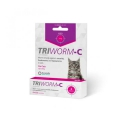 Triworm-C for Cats 10' Shipper(up to 8kg)Purple