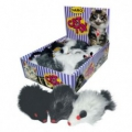 Cat Toy Plush Squeaky Mouse singles sos
