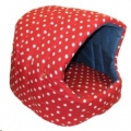 Bed Cat Igloo with Cushion Lge