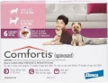Comfortis140mg 6's (2.3-4.5kg) Pink* (11/2020) tbd