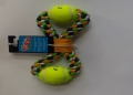 Rope Toy Cotton 2 Rings & Two Balls