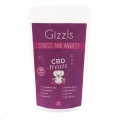 Gizzls Lrg Dog Stress&Anxiety CBD Treats 30'