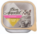 Bon Appetit Kitten Chicken Pate 100g 16's