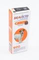 Bravecto Sml 1xTab 250mg 1'(4.5-10kg) Orange*