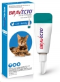 Bravecto Spot-On Med for Cats (2.8-6.25kg) D/Blue*