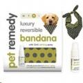 Pet Remedy Bandana+15ml Calming Spray Xsmall
