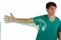 Glove Neck-Fingertip 110cm Green 50'(SMI)