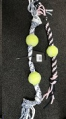 Rope Toy Cotton Bone with 1 Ball MCPets