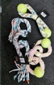 Rope Toy Cotton 2 Rings and 2 Balls MCPets