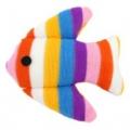 Plush Toy Fish Asst Colours