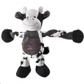 Toy Pulleez Cow w/Squeakers Charming Pets