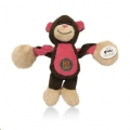Toy Pulleez Monkey Baby w/Squeakers Charm Pets