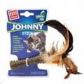 Cat Toy Catnip Johnny Stick w/Feather Gigwi