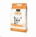 Litter Clump Soya Kit Cat 2.8kg Peach sos
