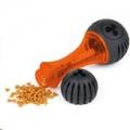 Dog Toy Squeeze Bone Midi Orange 23cm L'Chic