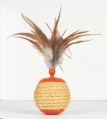 Cat Toy Roll Play Ball L'Chic
