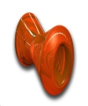Toy Bone Bionic Med Orange Outward Hound