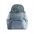 Carrier PoochPouch Front Grey Med Out. Hound