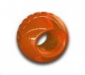 Toy Ball Bionic Lrg Orange Outward Hound