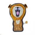Toy Invincible Lion TS Med Or 2Sqk Outward Hound