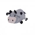 Toy Fattiez Cow Med Grey Outward Hound