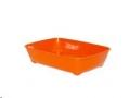 Litter Tray Aristotray Med Orange