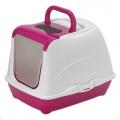 Cat Toilet Flip Cat Hot Pink