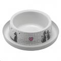 Bowl Single Trendy Dinner 350ml Cats in Love