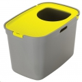Cat Toilet Top Cat Warm Grey and Lemon sos