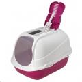 Cat Toilet Mega Comfy 66x50x46cm Hot Pink