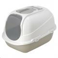 Cat Toilet Mega Comfy 66x50x46cm Warm Grey