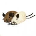 Cat Toy Jolly Moggy Nat Wild Catnip Mice x 2 R sos