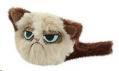Cat Toy Grumpy Cat Fluffy Rosewood sos