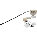 Cat Toy Grumpy Cat Annoy Plush Cat Wand Rwoo sos